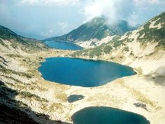 Mount Rila and 7 Lakes in Bulgaria is the highest mountain
