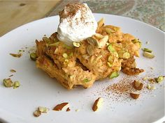 Shahi Tukray with Pumpkin: A Royal Bread Pudding recipe on Food52.com