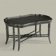 chinoiserie coffee table | ... classics mirabelle chinoiserie coffee table traditional coffee tables