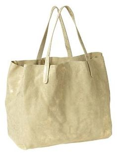 Leather tote | Gap