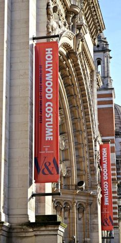 Victoria and Albert Museum- Hollywood Costume Exhibition