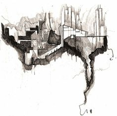abstract sectional drawings - Google Search