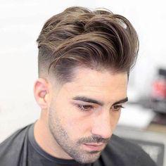 The 60 Best Medium-Length Hairstyles for Men Improb medium style haircuts for men - Medium Style Haircuts Medium Length Hair Men, Medium Hair Cuts, Short Hair Cuts, Short Hair Styles, Medium Hair Styles Men, Undercut Fade Hairstyle, Fade Haircut, Haircut Men, Undercut Pompadour