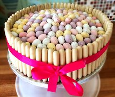 Mini egg & chocolate finger cake Made by me
