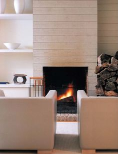 De frente  #Chimeneas  #Fireplace  #decor #living #salón