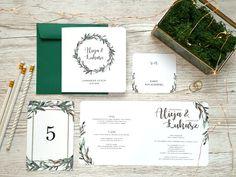 Zaproszenia ślubne - boho 12 Diy Wedding Stationery, Wedding Invitations, Boho, Place Cards, Wedding Day, Place Card Holders, Weeding, Ideas, Pi Day Wedding