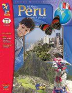 All About Peru (Enhanced eBook). Download it at Examville.com - The Education Marketplace. #scholastic #kidsbooks @Karen Echols #teachers #teaching #elementaryschools #teachercreated #ebooks #books #education #classrooms #commoncore #examville