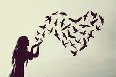 Aşk&Rüya Bir  Rüzgar  Geçip Giderken Fısıldadı… Gittin Ya…  Bulutun Dağa, Dağın Yamaca Dediği Şuydu..