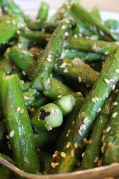 Weight Watchers Awesomely Easy Sesame Asparagus Recipe - 3 WW Smart Points