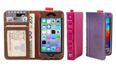 Groupon - Aduro BookCase Folio and Wallet for iPhone or Samsung Galaxy in [missing {{location}} value]. Groupon deal price: $9.99