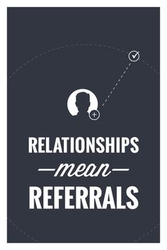 Build relationships for further business success