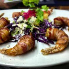 COA mexican eatery - Bacon Prawns