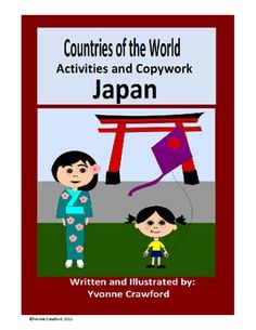 This booklet focuses on the country of Japan.  Your students will learn facts about Japan while practicing their manuscript and cursive handwriting...