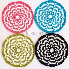 Crochet: trenzas de vainillas en circular!  Paso a paso de la técnica básica y de cómo hacer un bolso black&white :)