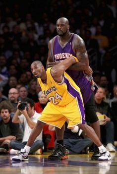 Kobe Bryant vs Shaq