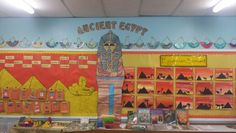 Ancient Egypt Topic Display