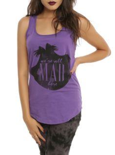Disney's Alice in Wonderland: We're All Mad Here purple t-shirt
