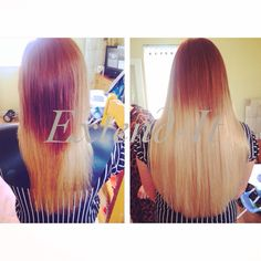 #ombre Prestige #Remy #microring #Hair #Extensions fitted by @extenditextensions #bristol #hairextensions