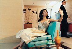 Brad Pitt & Angelina Jolie for W Magazine