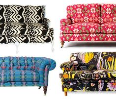 Patterned Sofas