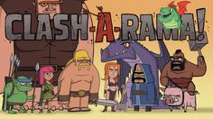 CLASH-A-RAMA! is an original comedy series based on your favorite Clash of Clans and Clash Royale characters. CLASH-A-RAMA! takes viewers inside the Village and Arena to see what life is like betwe…