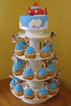 Little Einsteins Cake & Cupcakes