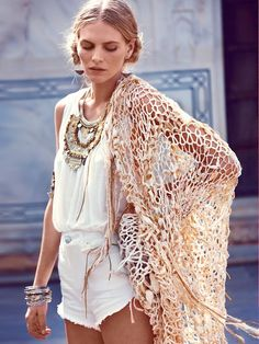 Tracy Radcliff Dreamcatcher Shawl at Free People Clothing Boutique