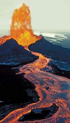 Photo : Volcán Kilauea, Hawai