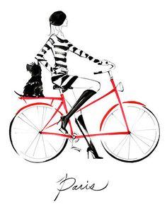 Paris- yoco nagamiya fashion illustrations