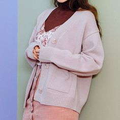 Buy chuu Dual-Pocket Wool Blend Cardigan at YesStyle.com! Quality products at remarkable prices. FREE WORLDWIDE SHIPPING on orders over US$35.
