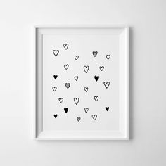 Printable art wall art prints nursery decor heart by MiniLearners