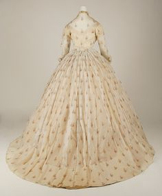 Dress - Dress Date: ca. 1865 Culture: American Medium: silk Dimensions: [no dimensions available] Credit Line: Gift of Mary Pierrepont Beckwith, 1969