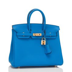 Hermes Blue Zanzibar Togo Birkin 25cm Gold Hardware | AVAILABLE NOW For purchase inquiries, Please Contact: Email: info@madisonavenuecouture.com | Call (212) 207-4572 | WhatsApp (917) 750-4502 Direct Message on Instagram: @madisonavenuecouture Guaranteed 100% Authentic | Worldwide Shipping | Bank Transfer or Credit Card