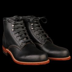 1000_Mile_Boot_in_Black_12 by wolverine at unionmade