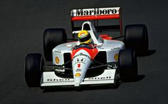 1991 McLaren MP4/6 (A. Senna/G. Berger)