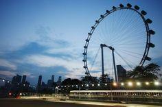 Singapore Flyer (165 m), Cingapura