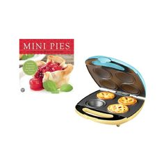 Mini Pie Baker and Cookbook Set | dotandbo.com