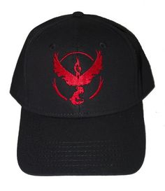Check Out These Awesome Hats For Team Valor! Support The Team Of Power!  http://workoutathome.eu/team-valor-shirts-and-hats-trainer-pack