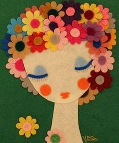 40 Easy DIY Spring Crafts Ideas for Kids - life Care - amazing craft Kids Crafts, Felt Crafts, Diy And Crafts, Arts And Crafts, Paper Crafts, Laundry Art, Diy Y Manualidades, Felt Pillow, Mothers Day Crafts