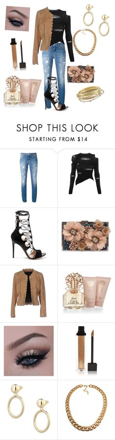 """""""Untitled #593"""" by gigiglow ❤ liked on Polyvore featuring Dolce&Gabbana, Vivienne Westwood, Etro, Sondra Roberts, Barbara Bui, Vince Camuto, Jouer, Eddie Borgo and Kendra Scott"""