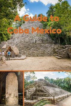Visit the Mayan Civilisation of Coba in Mexico and wander around the ruins of the site. Close to the site of Tulum and many cenotes in the area.