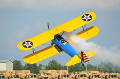 1943 Boeing A75N1 - EAA Airventure Oshkosh 2012 by Jack  on 500px