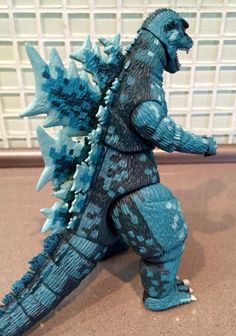"""NECA: Godzilla 'Video Game Appearance Version' (Pixelated) 12"""" head to tail figure."""
