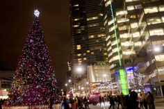 Free Vancouver Christmas & Holiday Events: Vancouver Tree Lighting Celebration - December 2, 2016