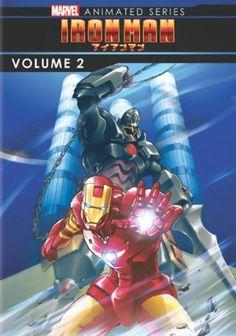 Iron Man DVD 2 (Hyb) (Marvel Anime)