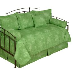 Karin Maki Caribbean Coolers Tie Dye Lime Green #Daybed #Comforter Set #DelectablyYours