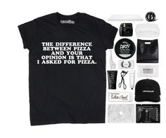 """""""the difference between pizza and your opinion is that i asked for pizza."""" by s-unrises ❤ liked on Polyvore featuring Rodin, Chanel, Paper Mate, Sephora Collection, NARS Cosmetics, Stila, 3.1 Phillip Lim, Jonathan Adler, MAC Cosmetics and Heal's"""