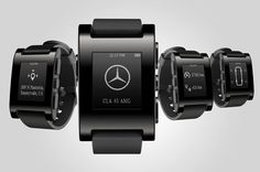#Mercedes teams with #Pebble for #smartwatch tech : via @Autoblog .com