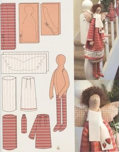 Most recent Free sewing tutorials toys Thoughts Gallery. Doll Clothes Patterns, Doll Patterns, Sewing Crafts, Sewing Projects, Sewing Tutorials, Tilda Toy, Sewing Dolls, Doll Tutorial, Waldorf Dolls