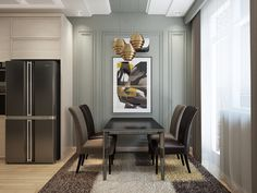 Ознакомьтесь с этим проектом @Behance: «Avant garde flat» https://www.behance.net/gallery/59580707/Avant-garde-flat